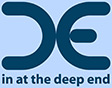 in at the deep end logo